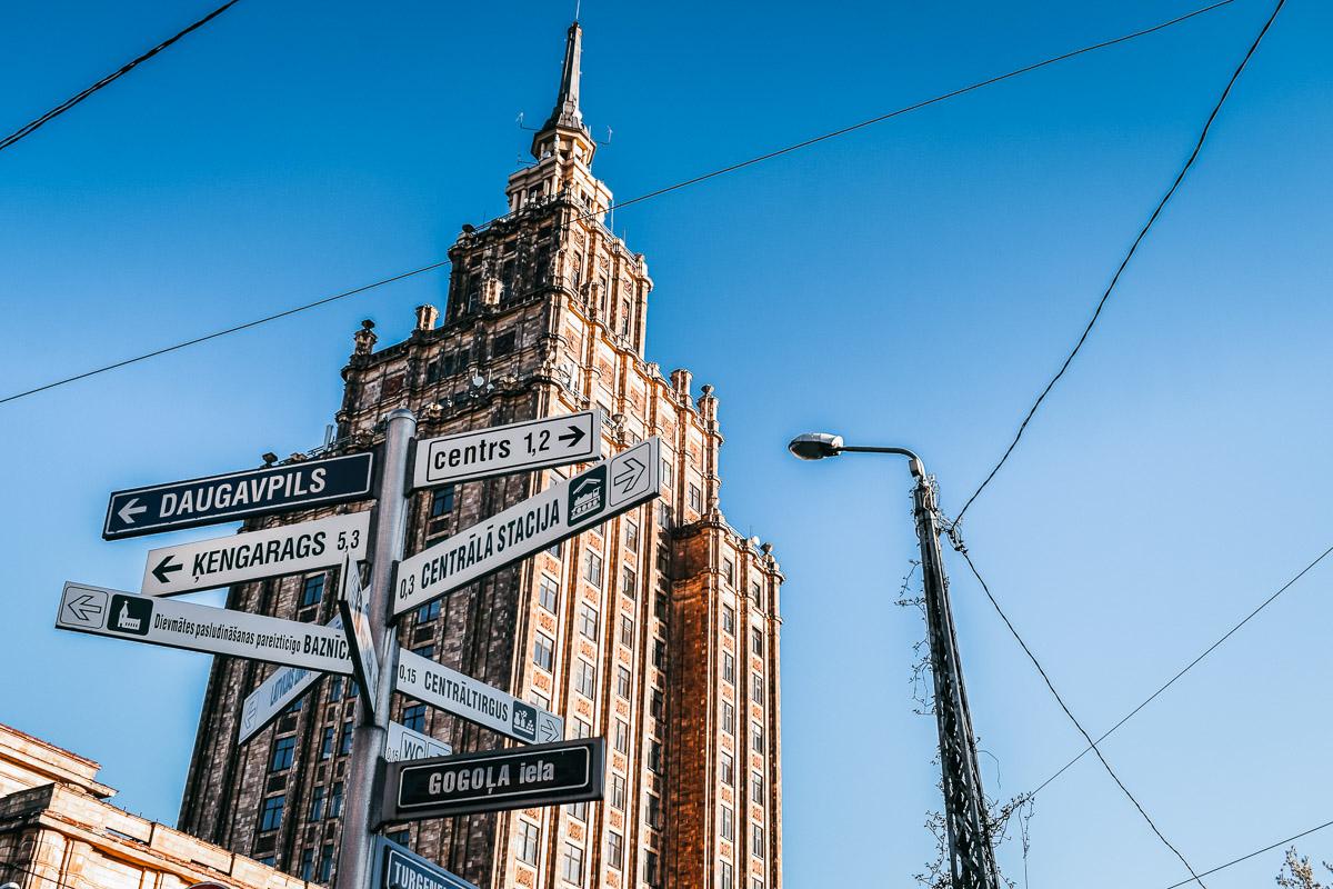 Riika Stalinin pilvenpiirtaja