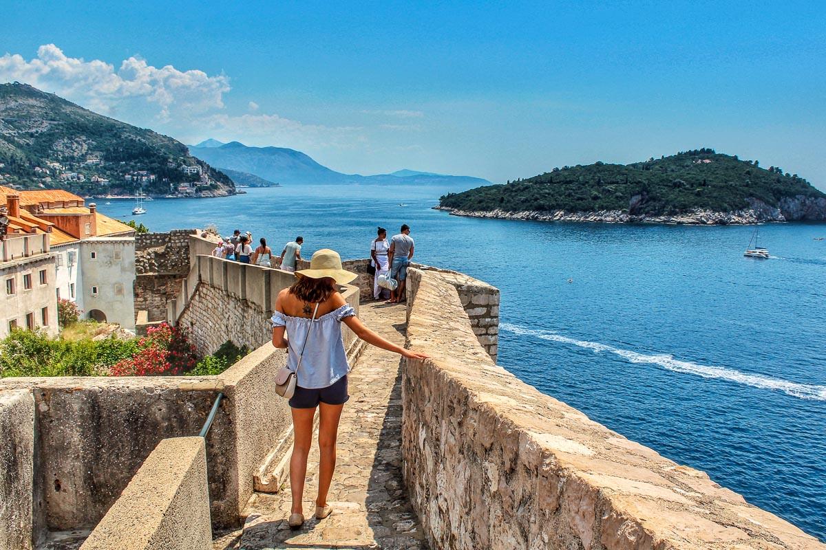 Dubrovnik muurit