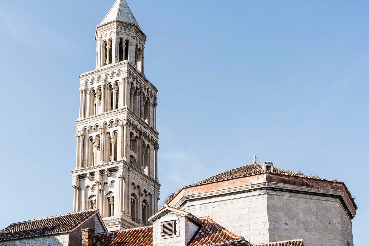 Splitin katedraalin kellotorni