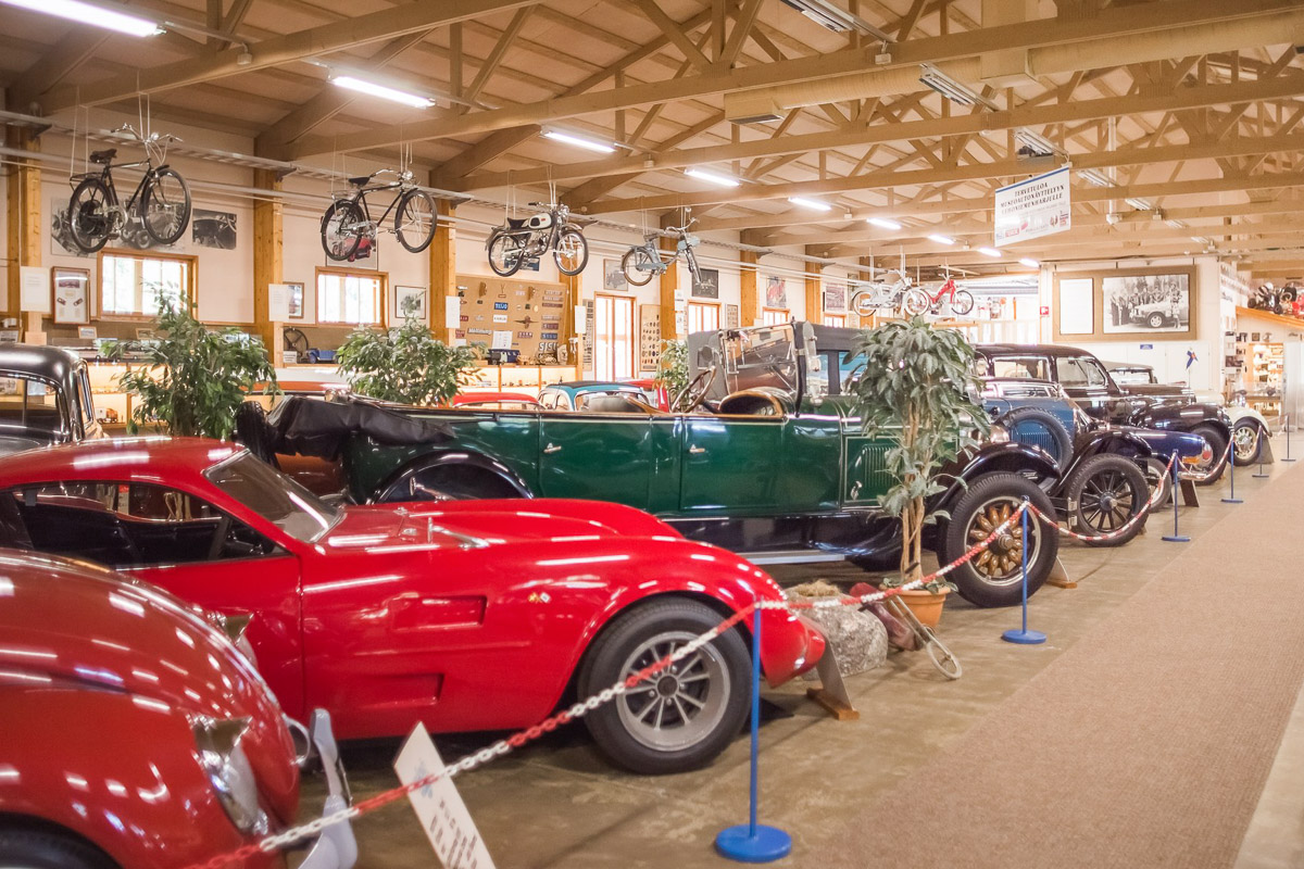 Vehoniemi automuseo