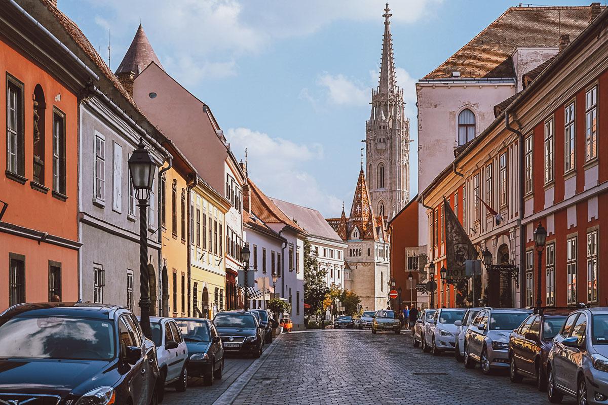 Budapest vanha kaupunki