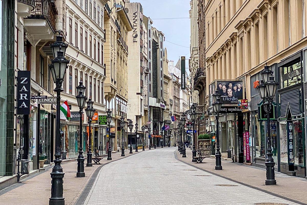 Vaco utca Budapestin kuuluisin katu