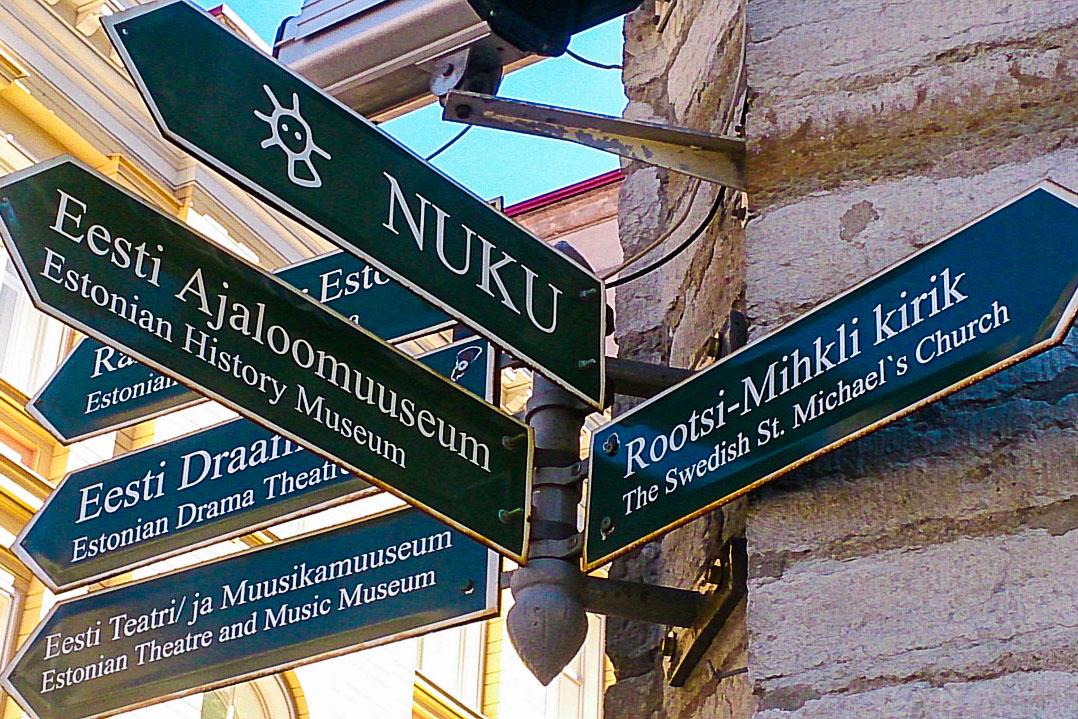 Tallinna tienviitat
