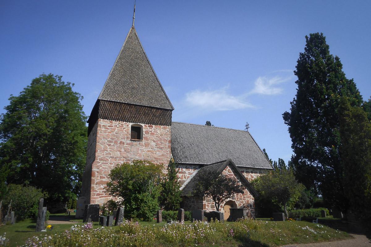 Eckrerön kirkko Ahvenanmaa