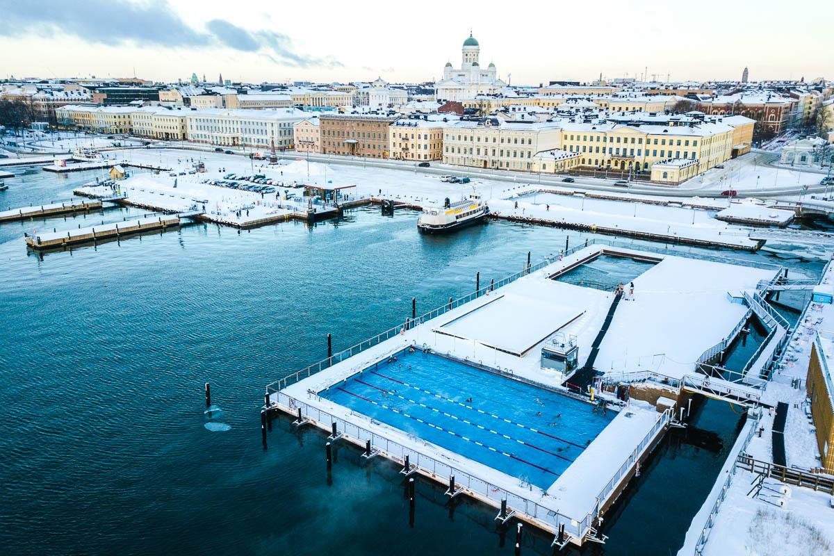 Allas Sea Pool talvi