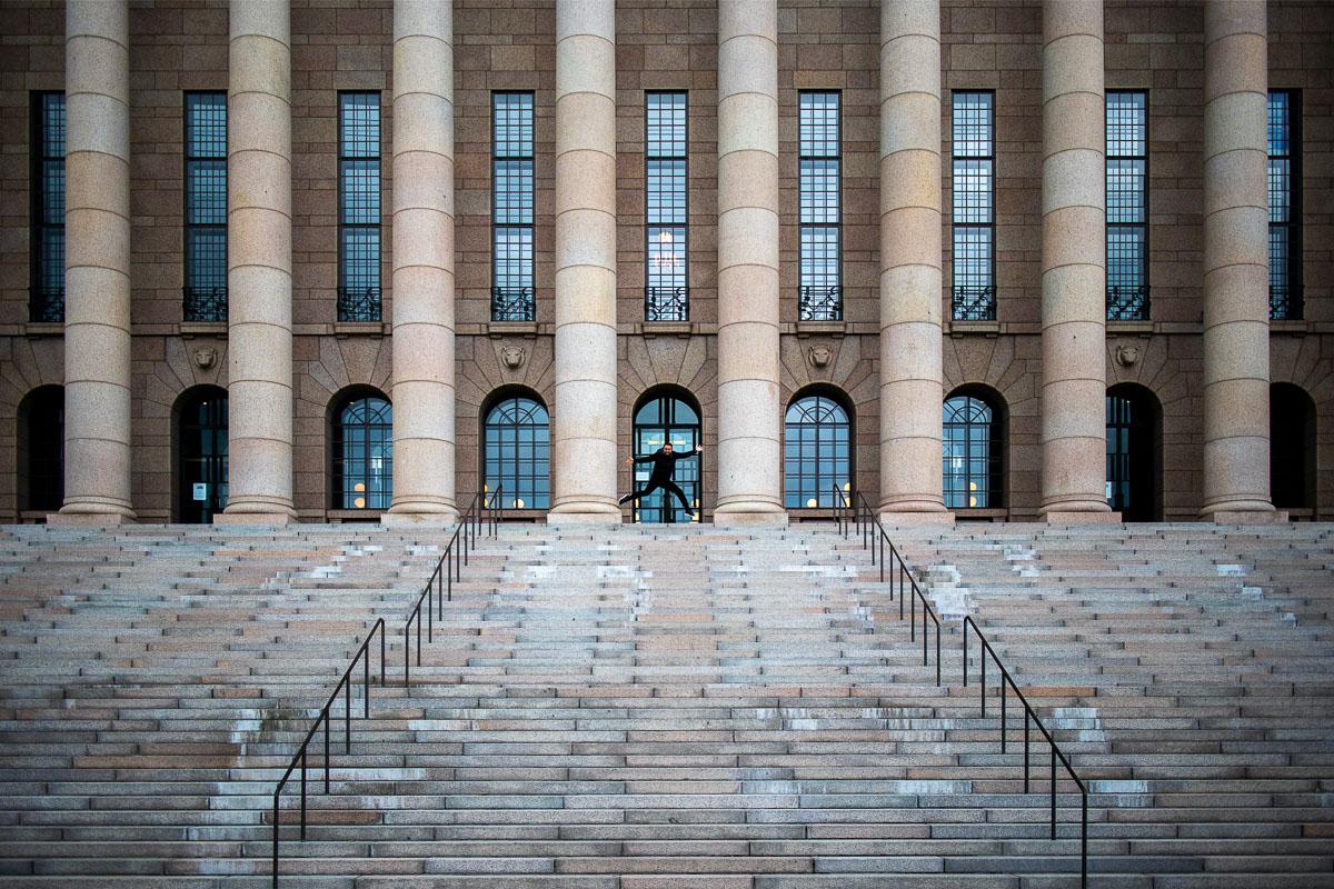 Helsingin nähtävyydet Eduskuntatalo