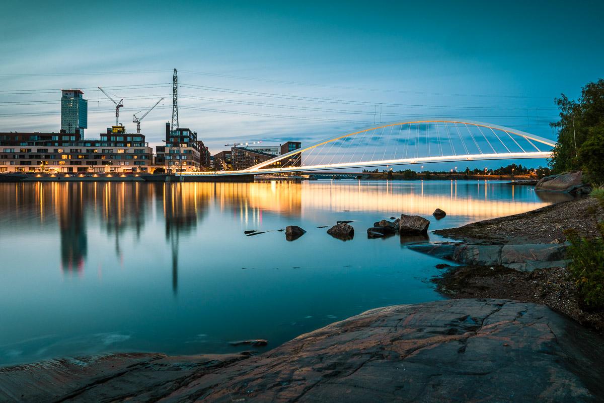 Helsinki Mustikkamaa silta