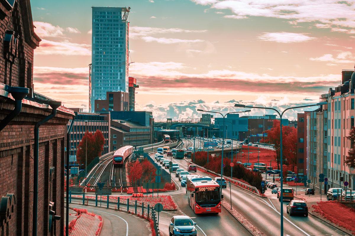 Kalasatama Helsinki pilvenpiirtäjä