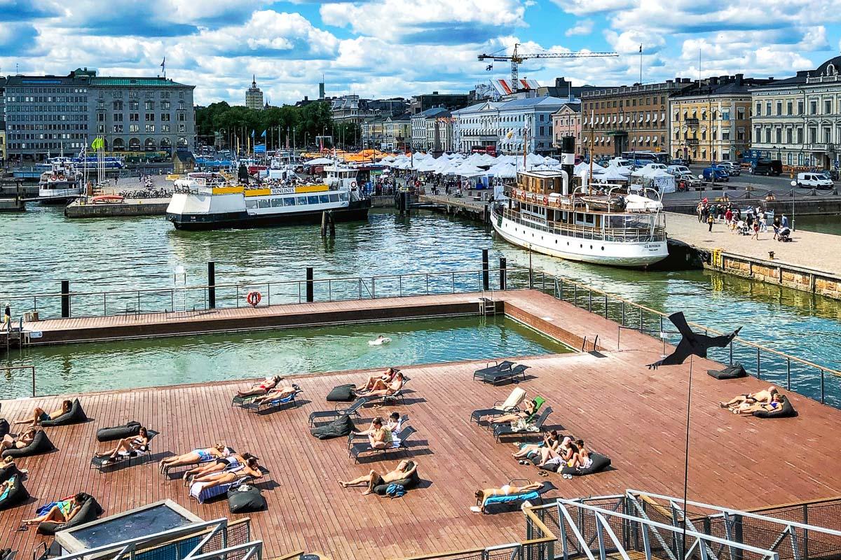 Helsinki Kauppatori uima-allas