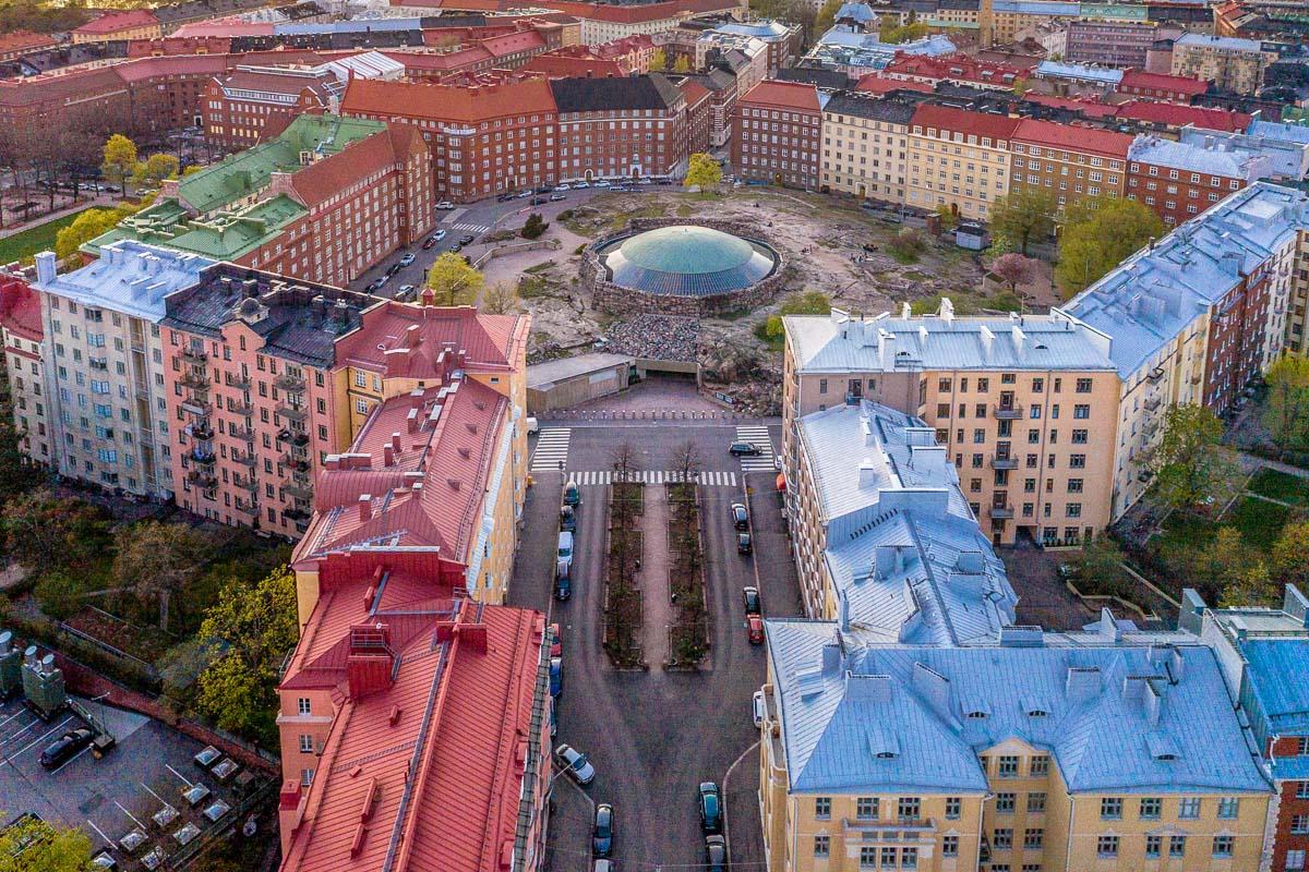 Töölön kaupunginosa Helsinki