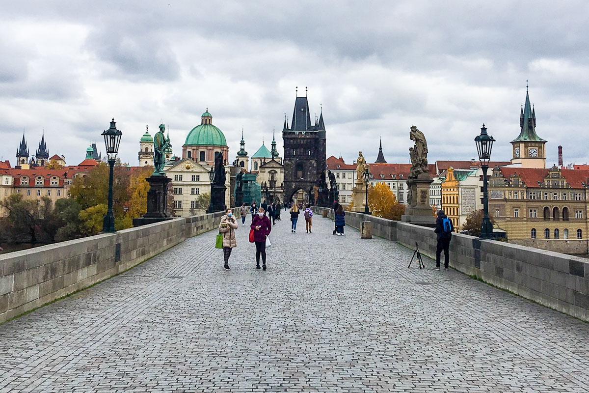 korona matkustus Praha