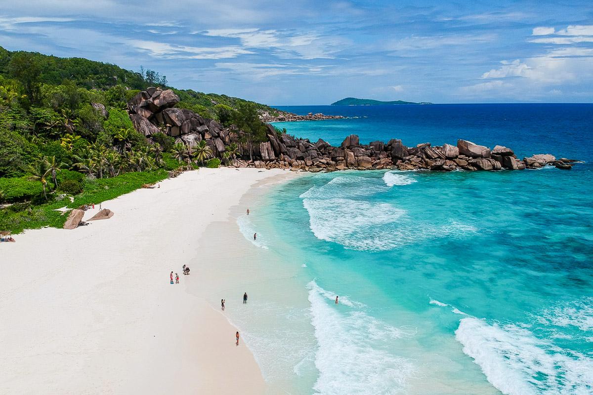 Seychellit ranta