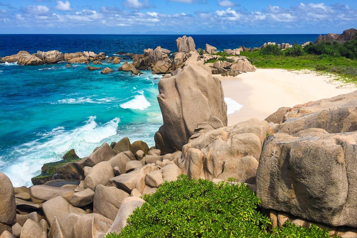 Seychellit salainen ranta