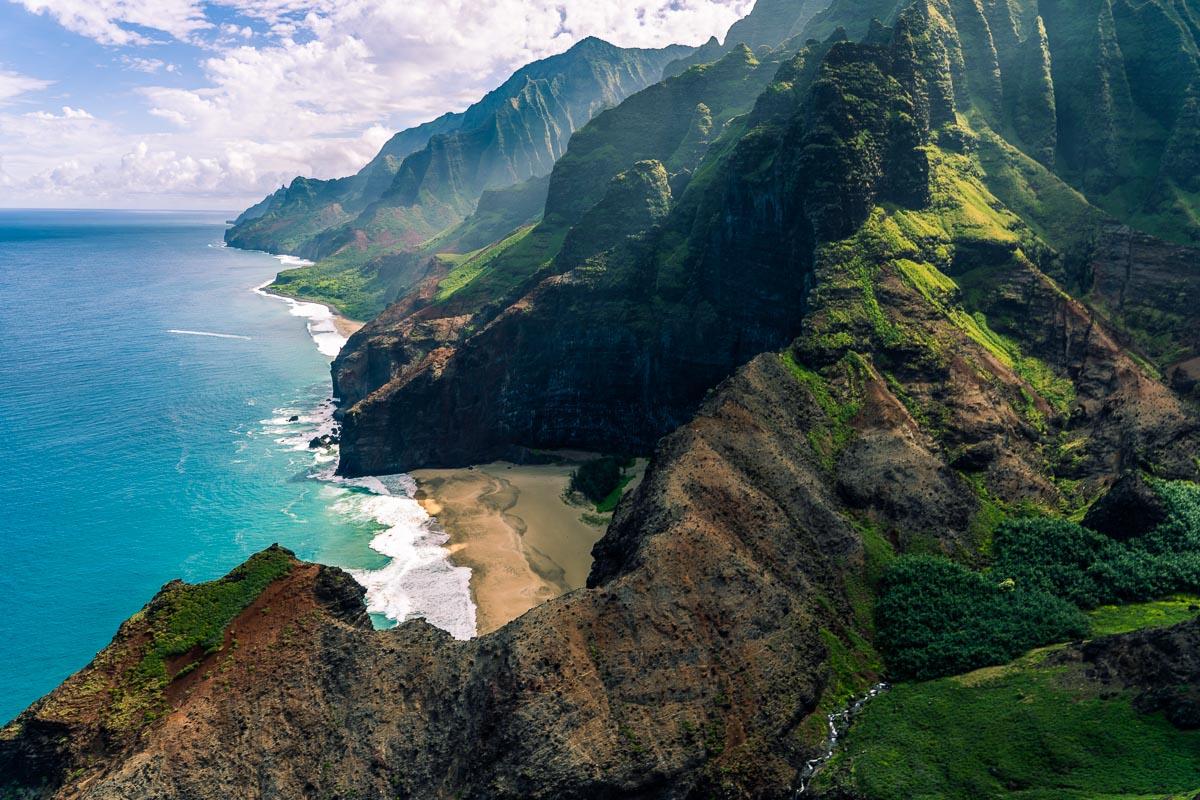 Napali Coast Havaiji