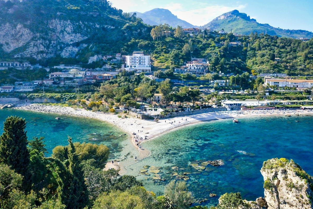 Taormina Sisilia matkakohde