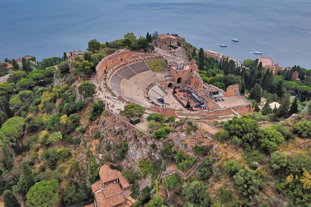Taromina antiikin teatteri