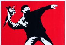Banksy näyttely Mänttä